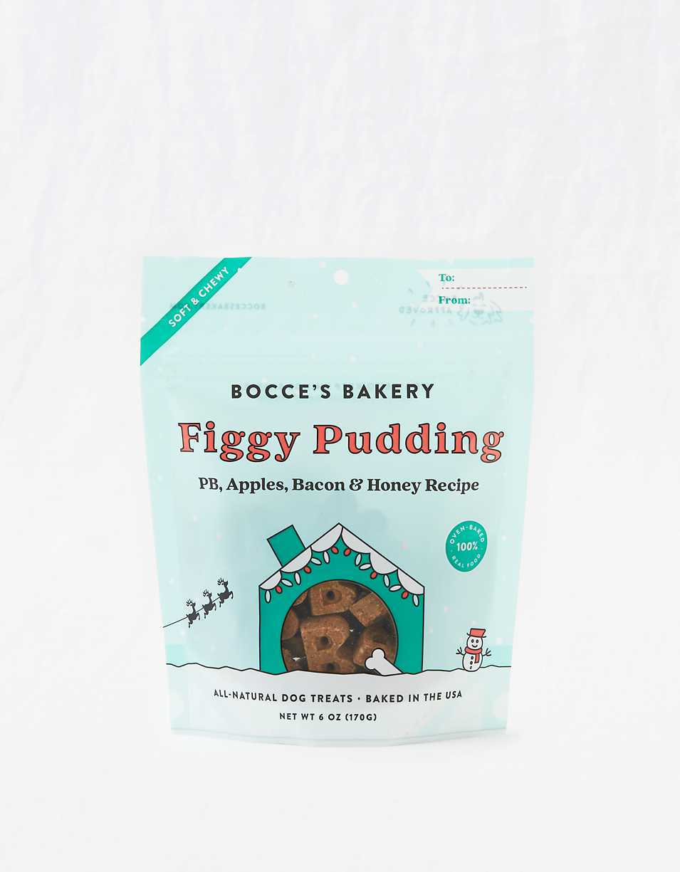 Bocce's Bakery Figgy Pudding Soft & Chewy Treats 6 oz