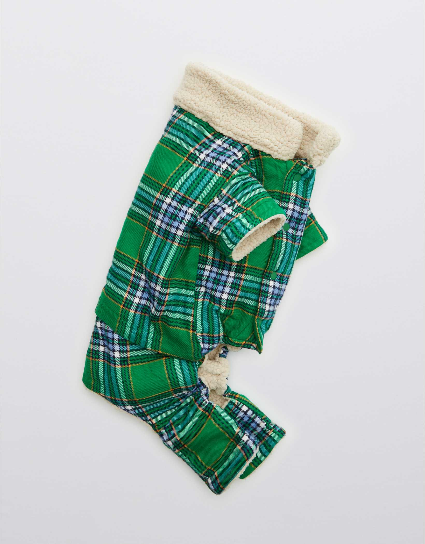 OFFLEASH By Aerie Flannel Dog Pajamas