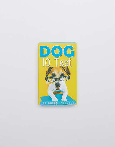 Dog IQ Test Cards