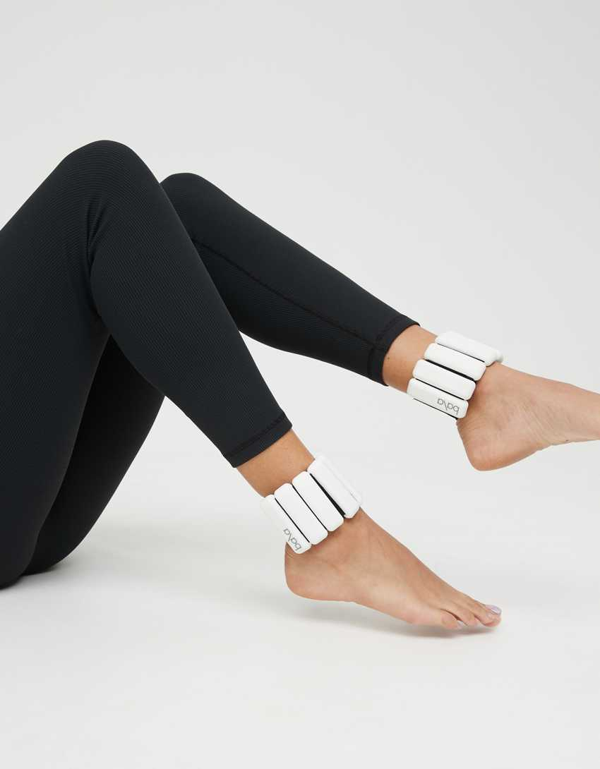 Bala 1 lb Wrist And Ankle Weights - White