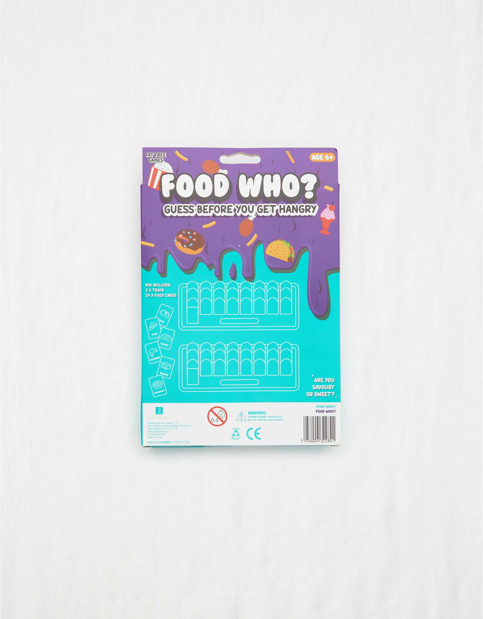 Food Who? Board Game