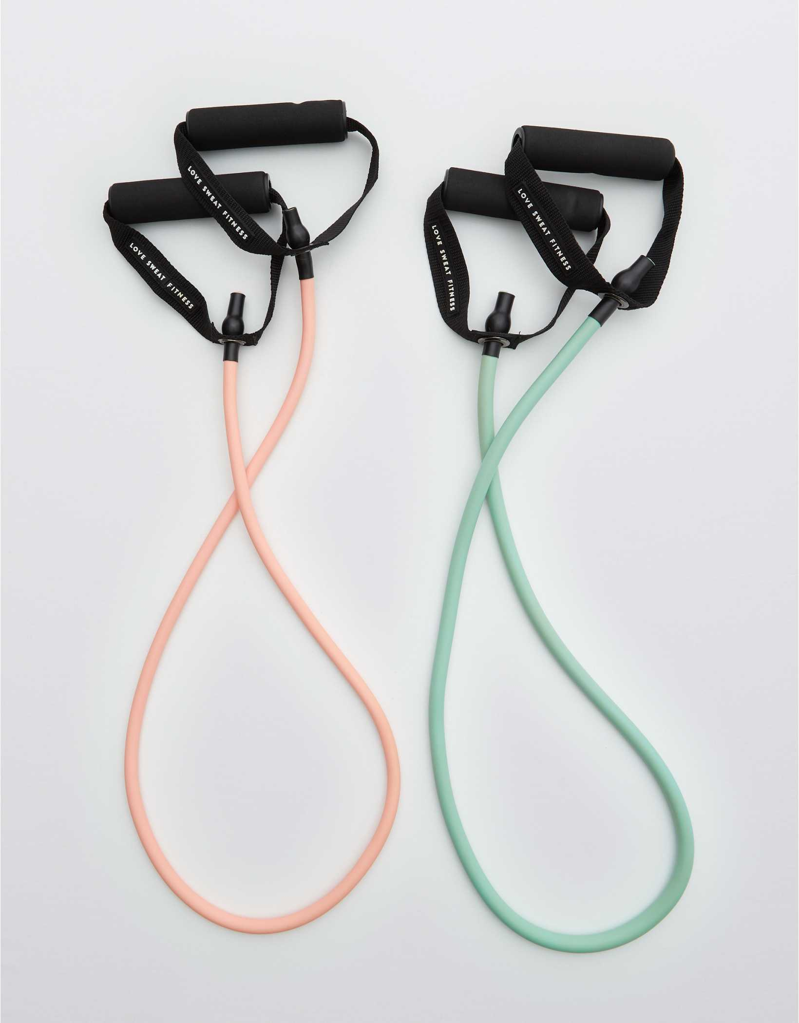 Love Sweat Fitness Resistance Tube Bands