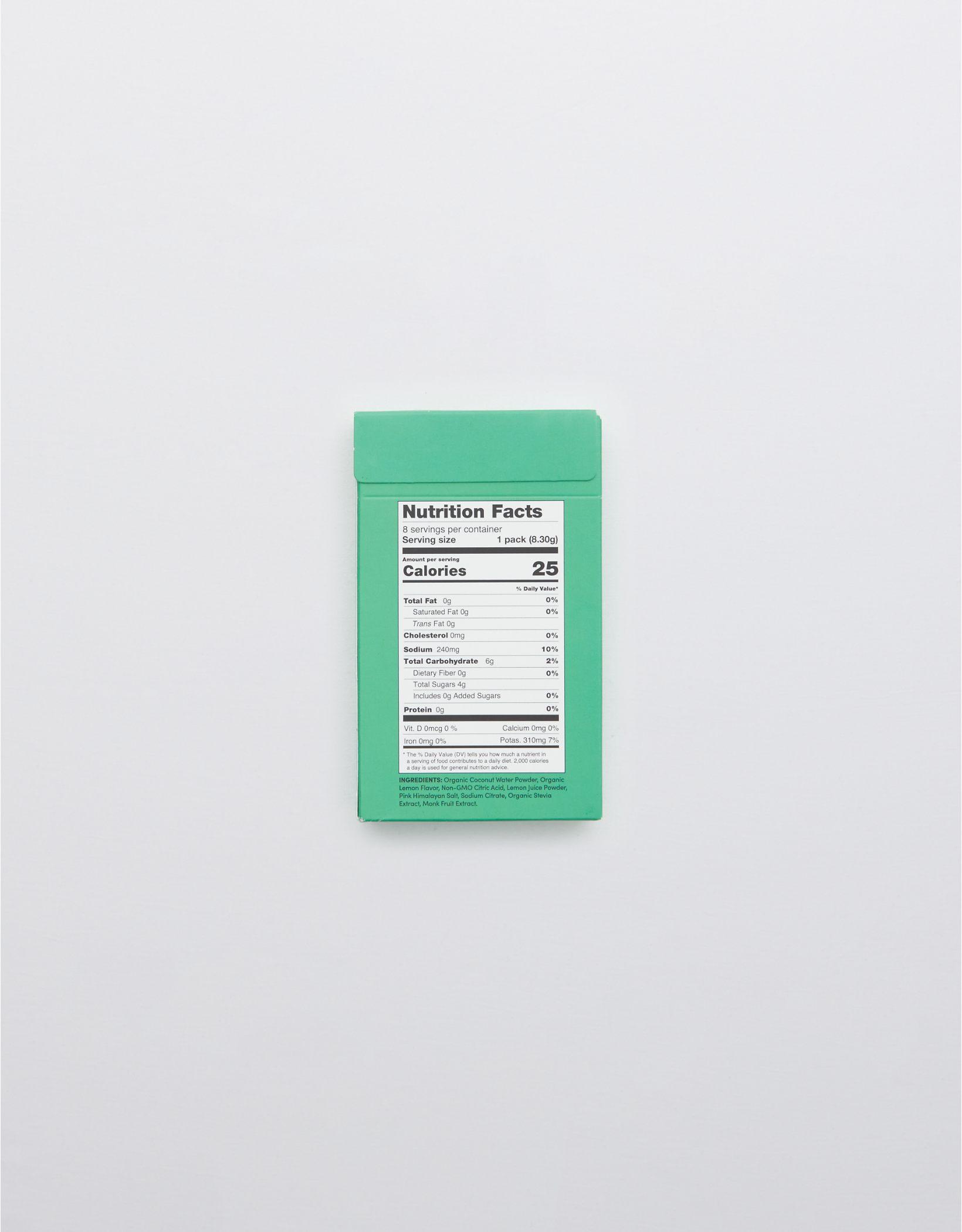 Cure Hydration Main Squeeze Lemon - 8 Ct Box