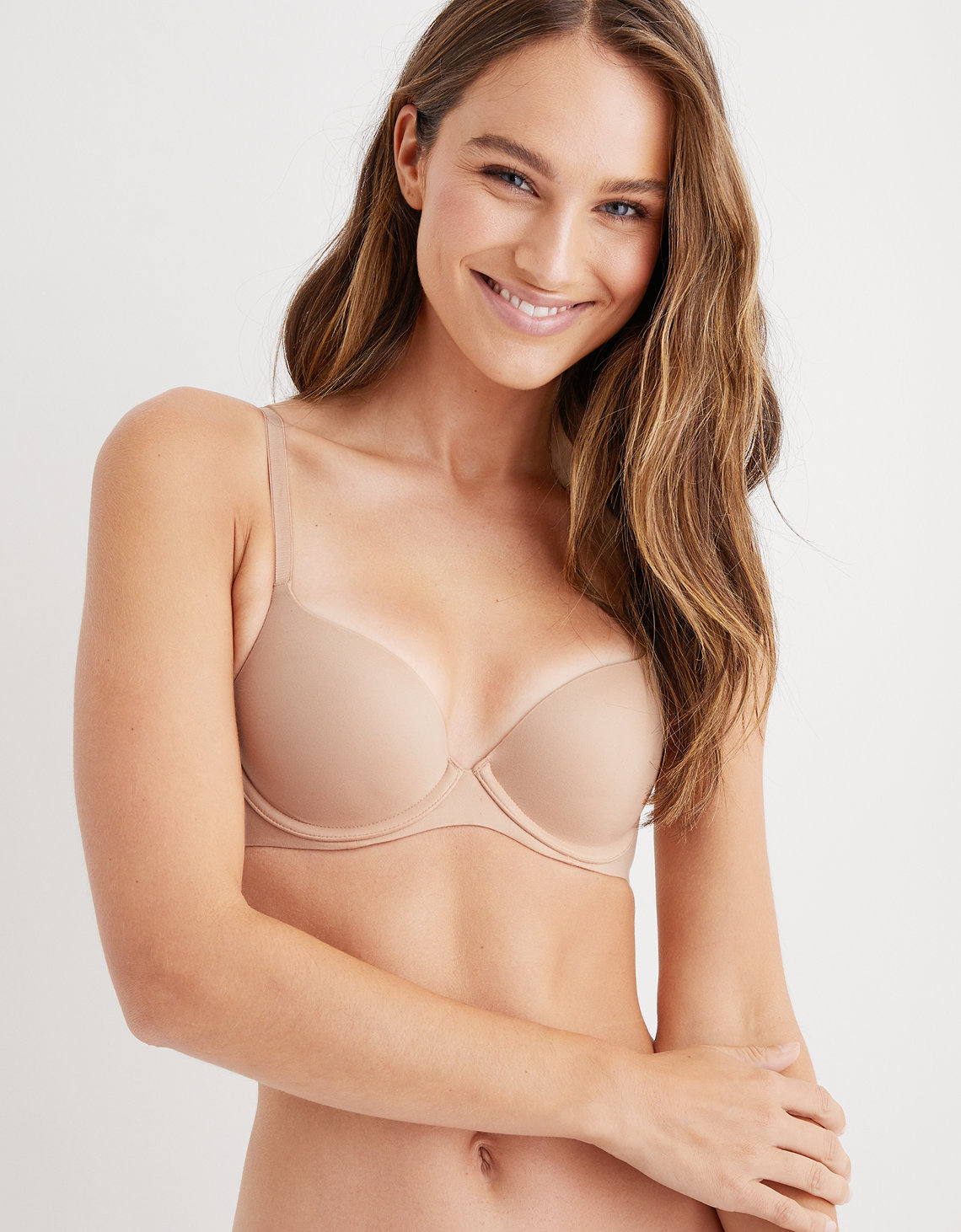3379ff88fcc2f Aerie Real Sunnie Demi Push Up Bra