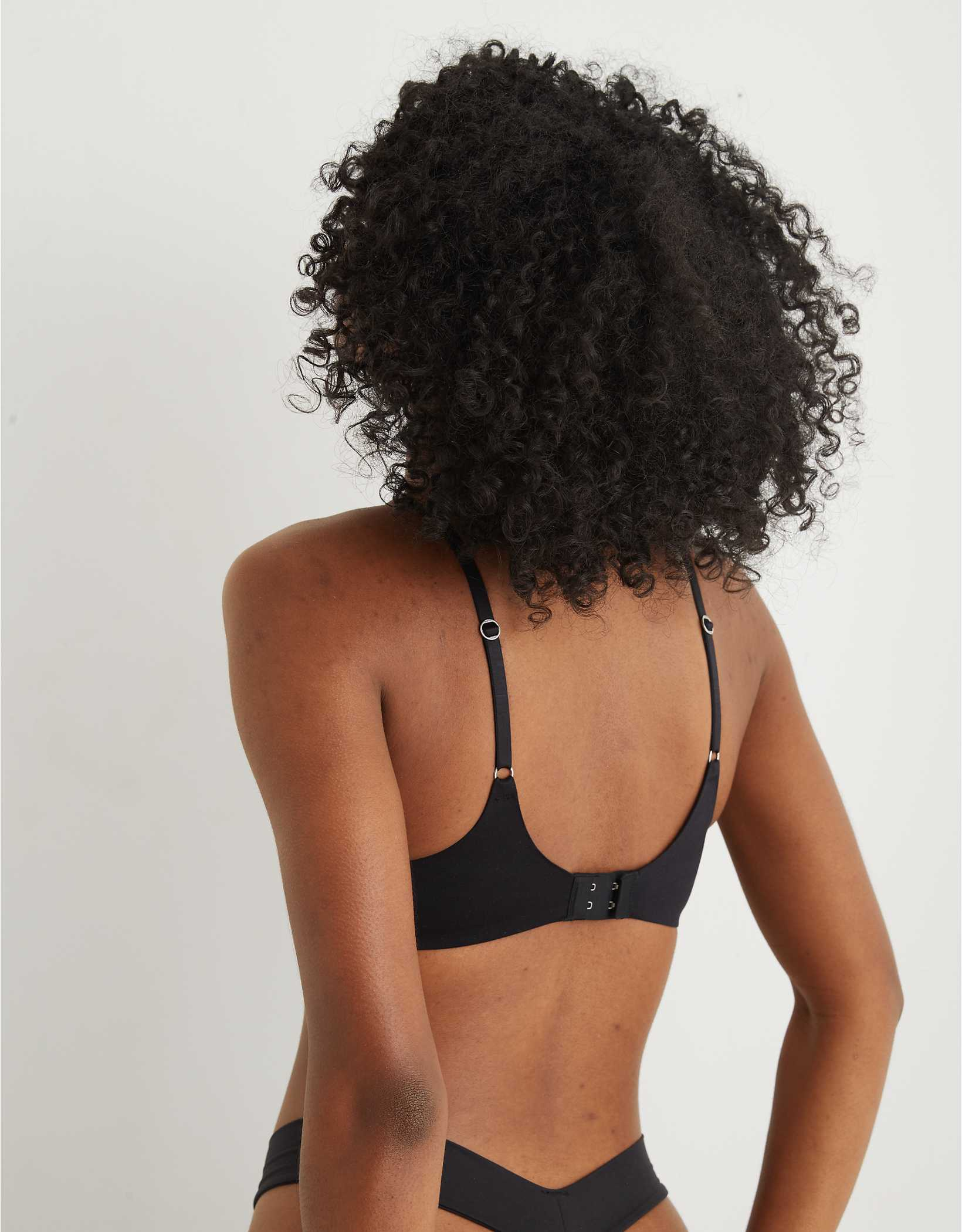 Aerie Real Sunnie Demi Push Up Blossom Lace Bra
