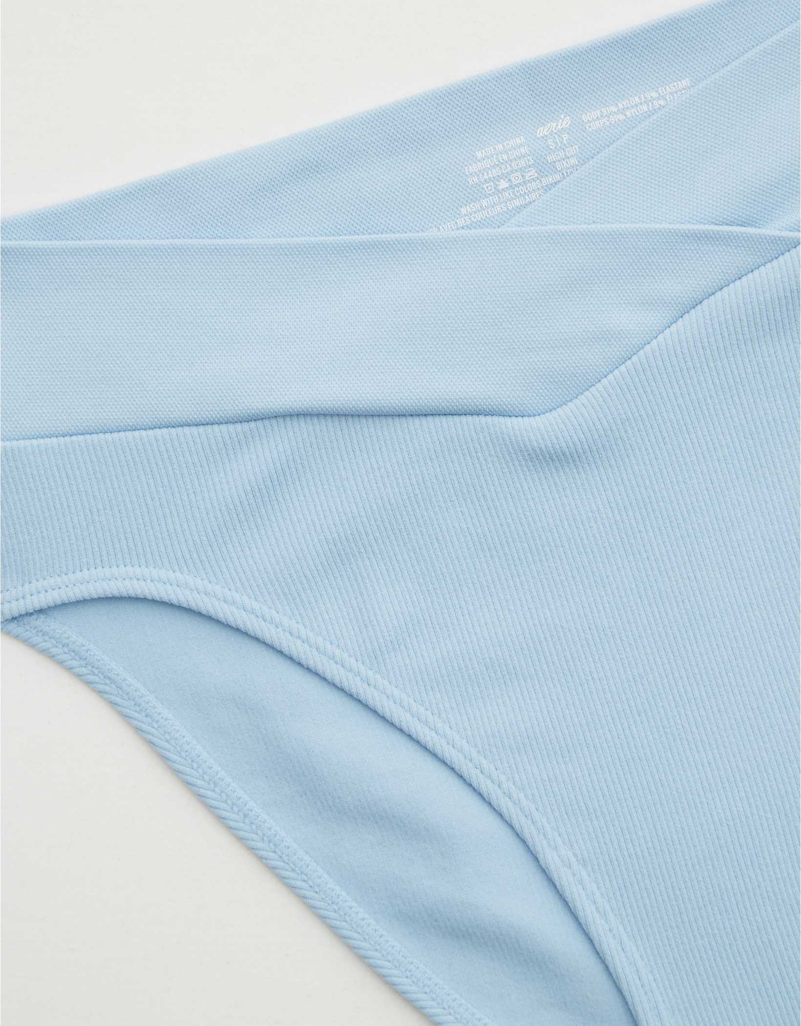 Aerie Seamless Crossover High Waisted Mom Underwear