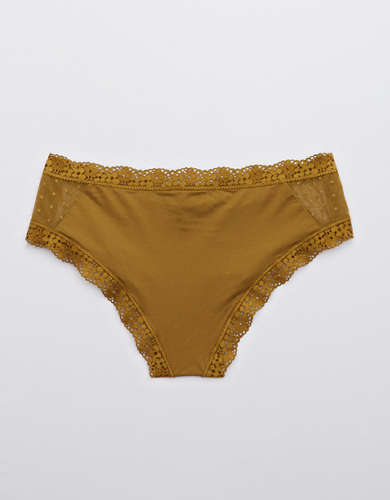 Aerie Garden Party Shine Cheeky Underwear