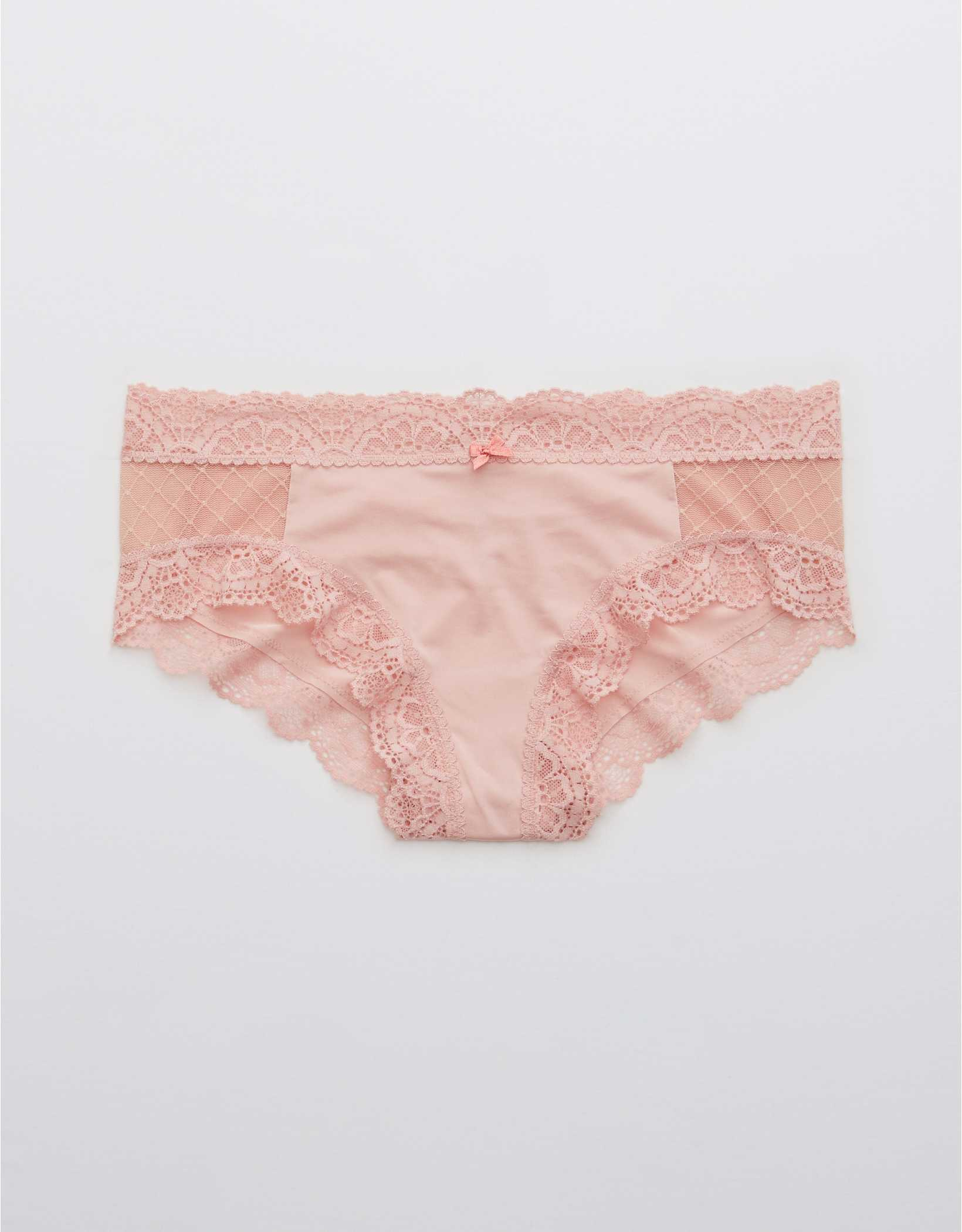 Aerie Slumber Party Lace Shine Cheeky Underwear