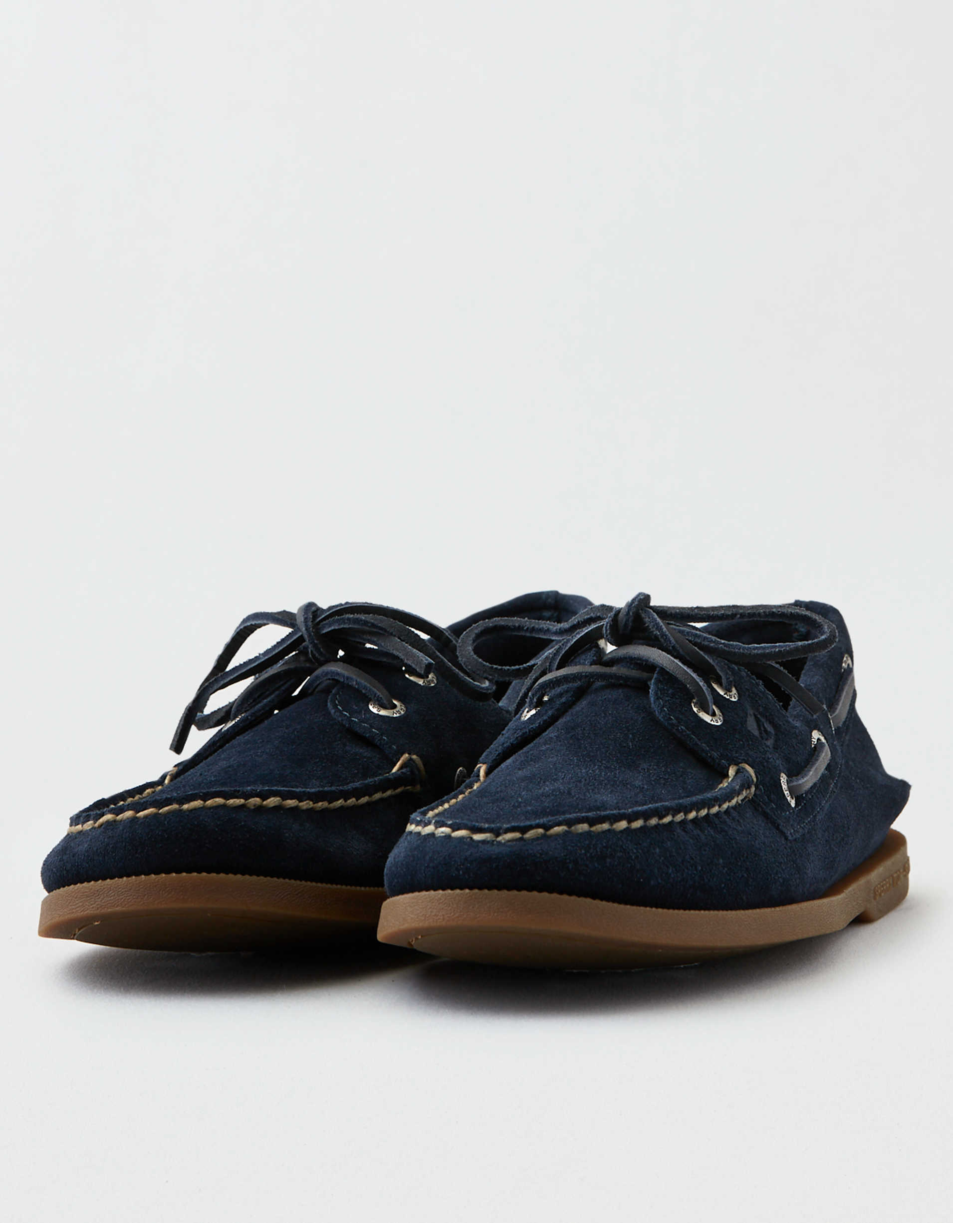Sperry Authentic Suede Boat Shoe