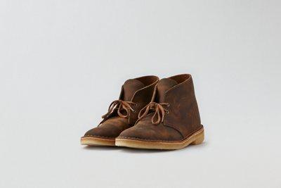Clarks® Leather Desert Boot