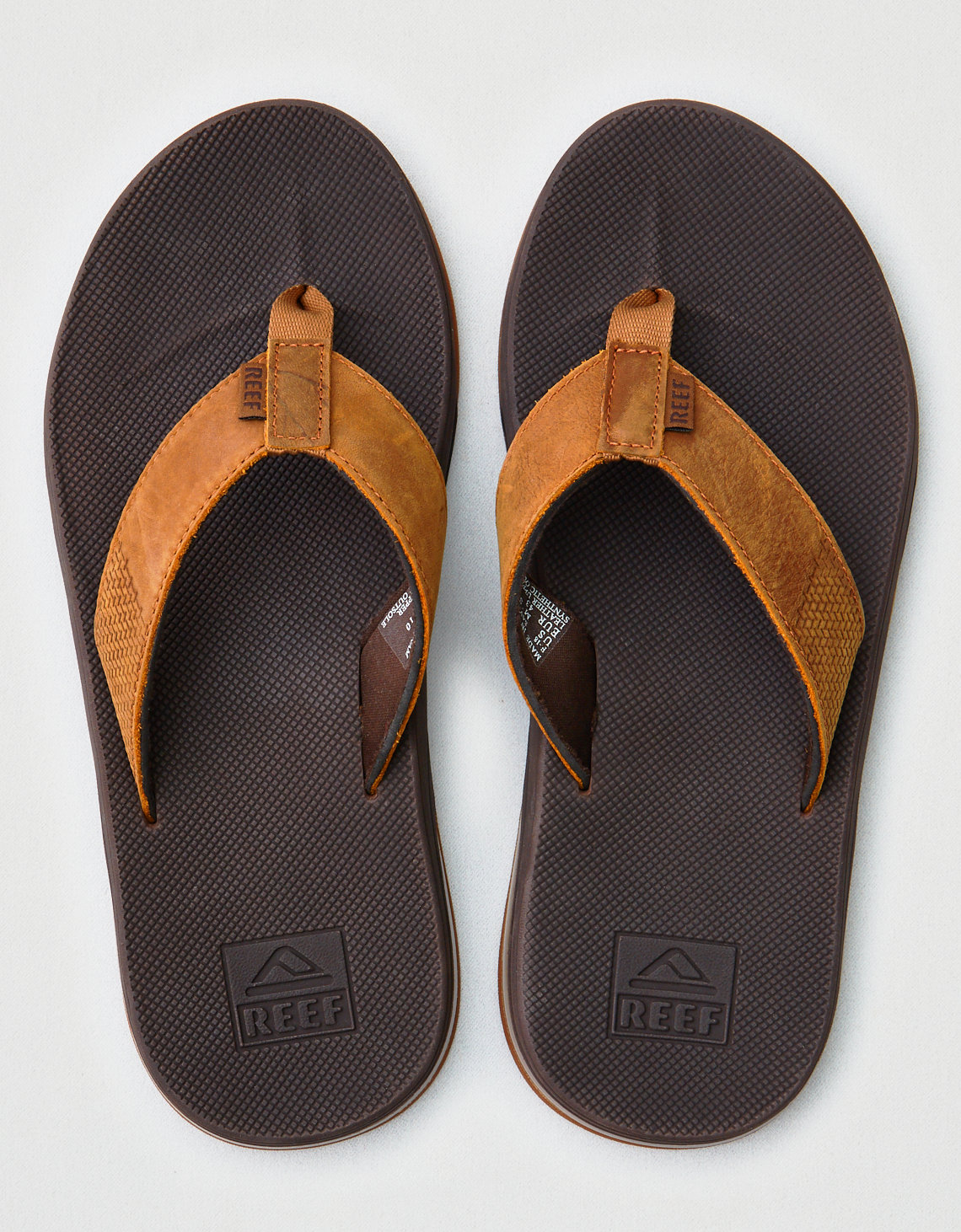 b0c91e5689af Reef Leather Fanning Low Sandal. Placeholder image. Product Image