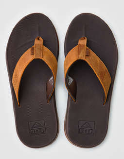 Reef Leather Fanning Low Sandal