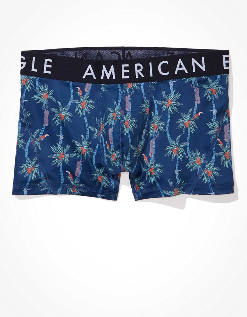 "AEO Jungle Palm 3""Flex Trunk Underwear"