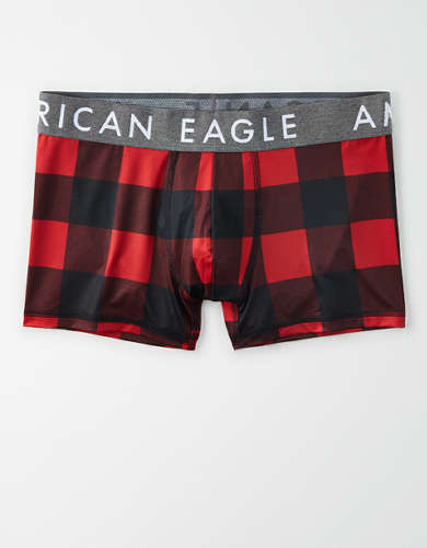 "AEO Plaid 3"" Flex Trunk Underwear"