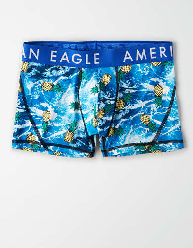 "AEO Pineapple Wave 3"" Flex Trunk Underwear"