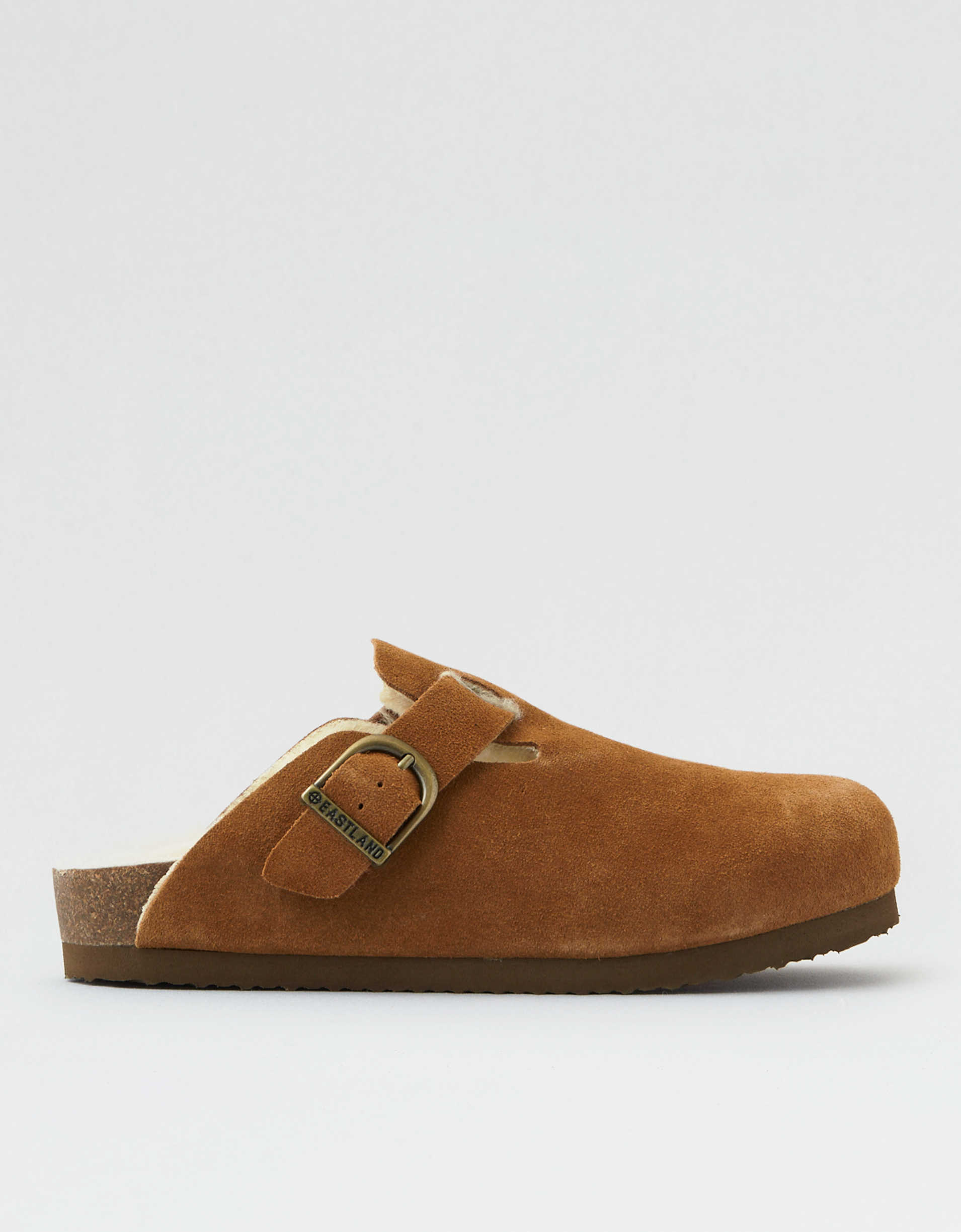 Eastland Gina Fur Lined Clog