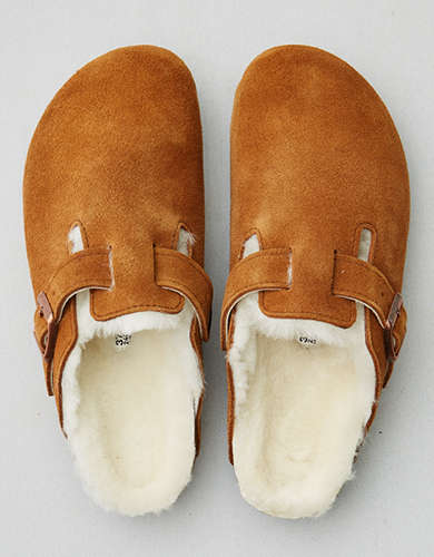 Birkenstock Women's Boston Fur Lined Clog