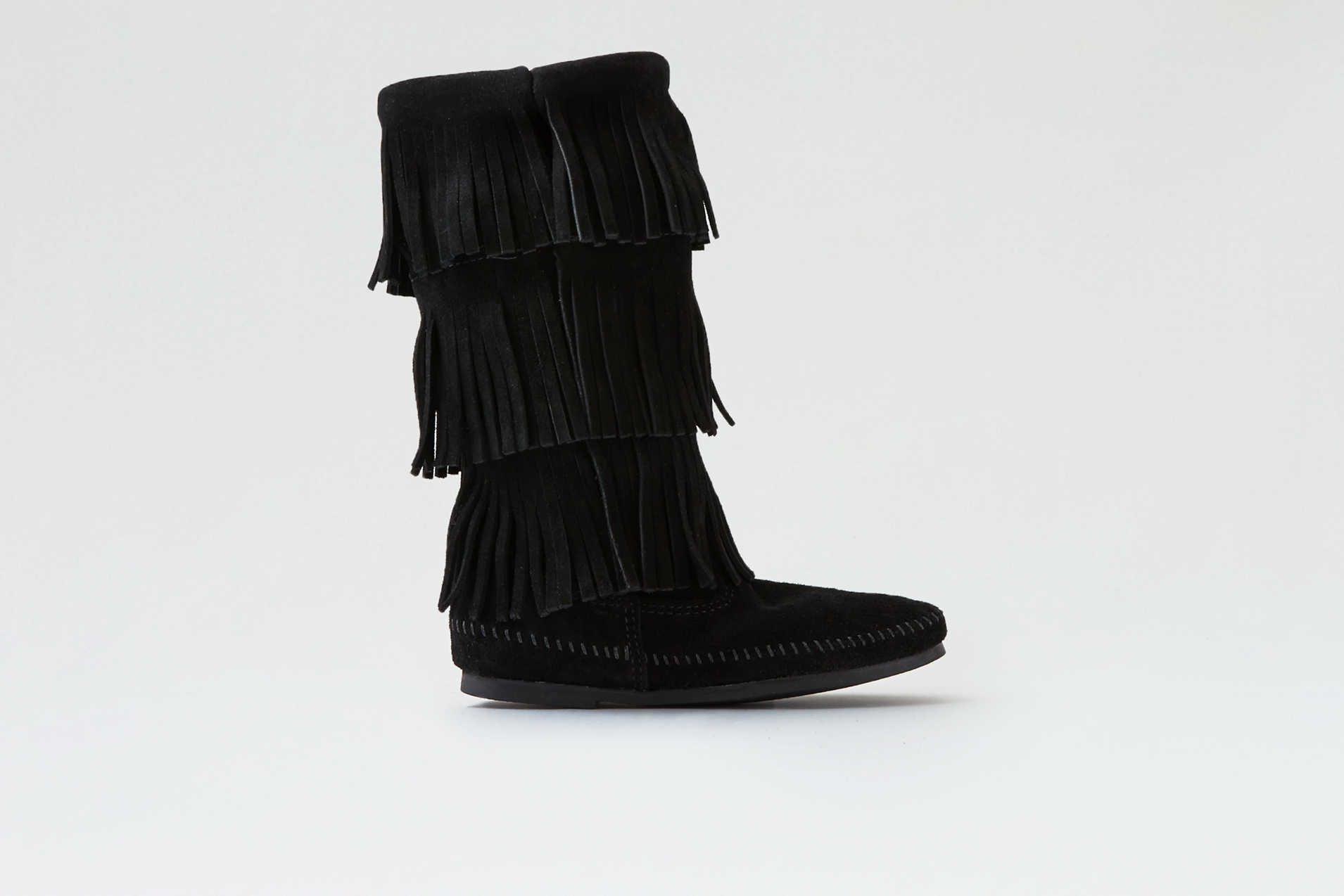 Minnetonka Triple Fringe Boot