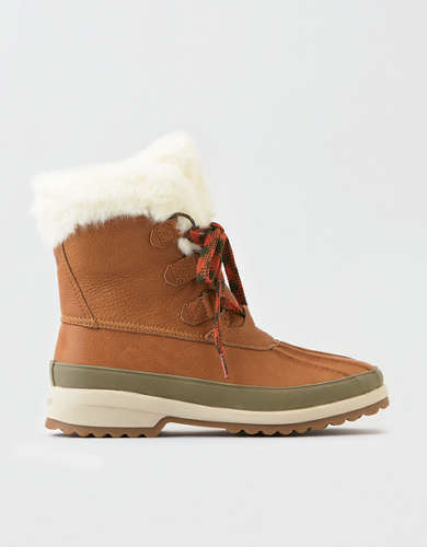 Sperry Maritime Winter Leather Snow Boot