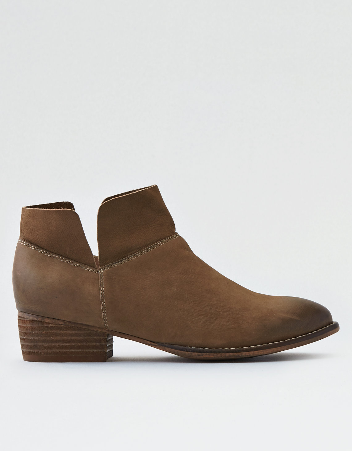seychelles snare bootie, taupe