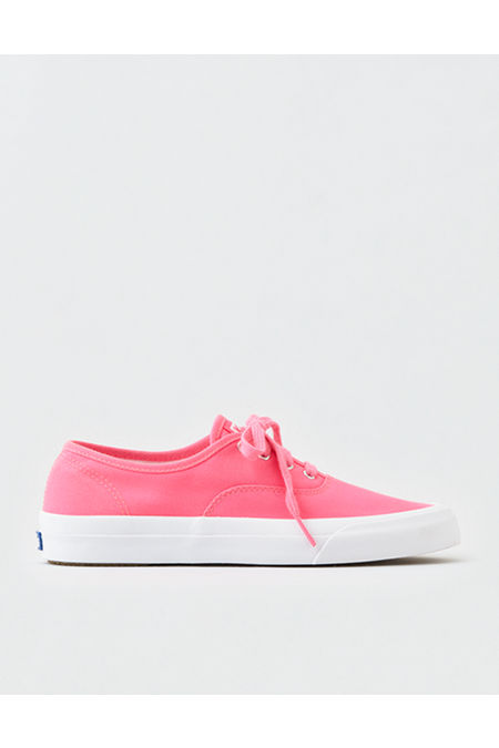 80s Shoes, Sneakers, Jelly flats Keds Neon Surfer Canvas Sneaker Womens Pink 11 $34.99 AT vintagedancer.com