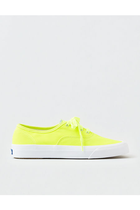 80s Shoes, Sneakers, Jelly flats Keds Neon Surfer Canvas Sneaker Womens Yellow 11 $34.99 AT vintagedancer.com
