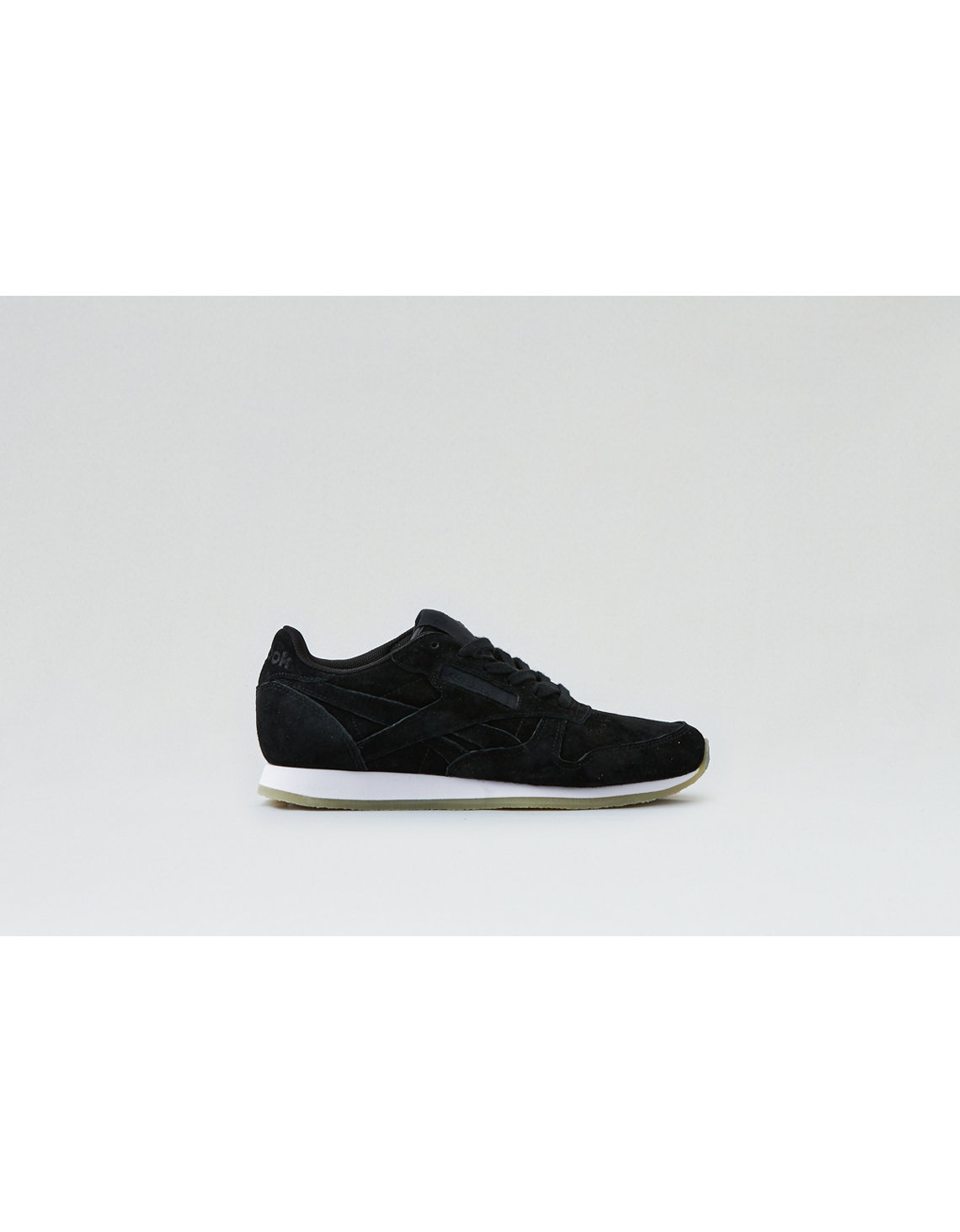 reebok classic leather cr sneaker, black