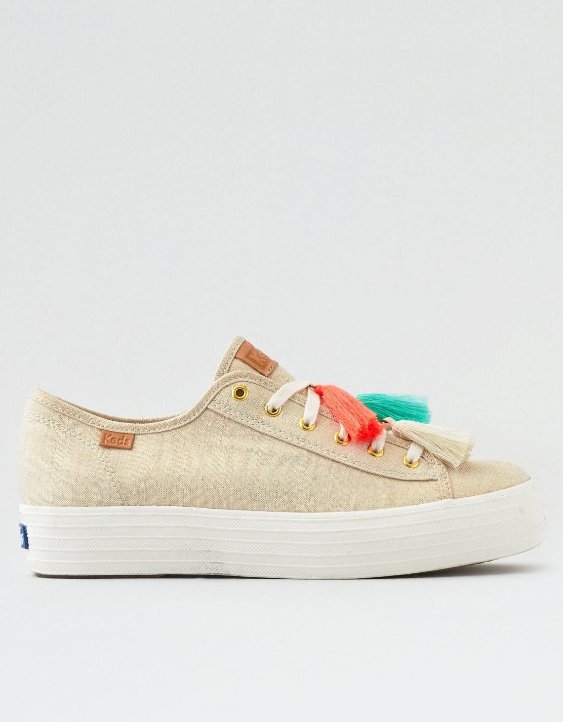 Keds Triple Kick Metallic Tassel Sneakers gIwRJav