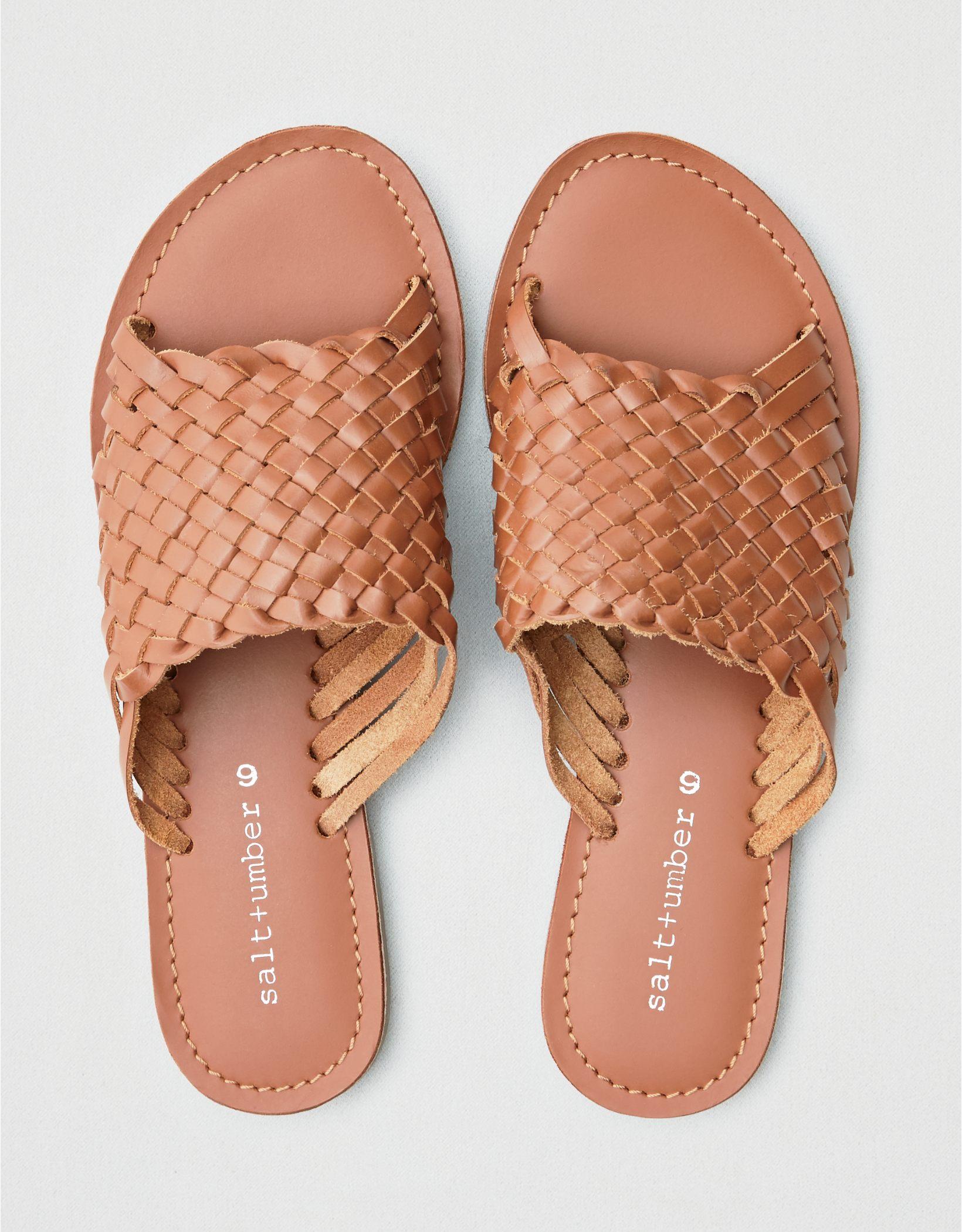 Salt + Umber Saffron Sandal