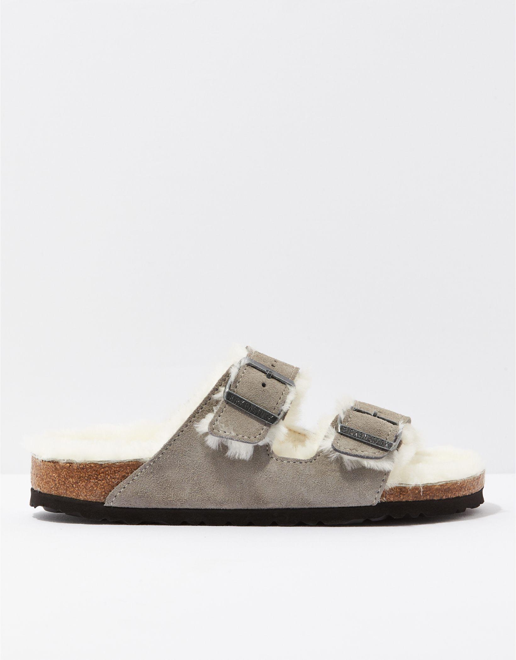 Birkenstock Arizona Shearling Sandal
