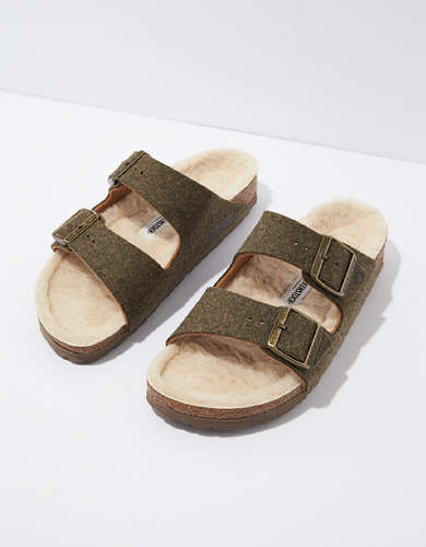 Birkenstock Happy Lamb Wool Felt Sandal