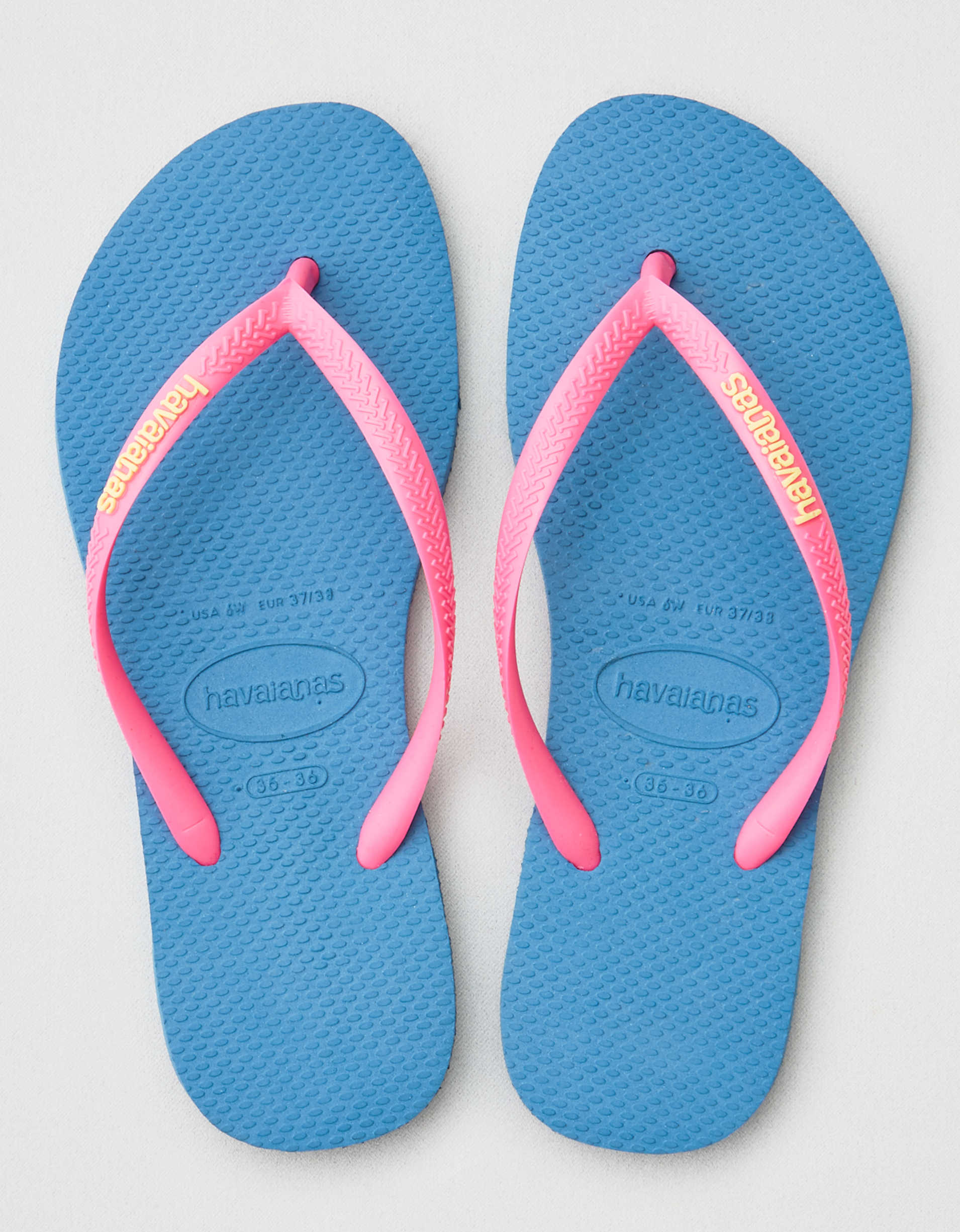 Havaianas Slim Logo Pop Up Flip Flop