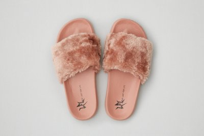 LFL by Lust For Life Faux Fur Slide