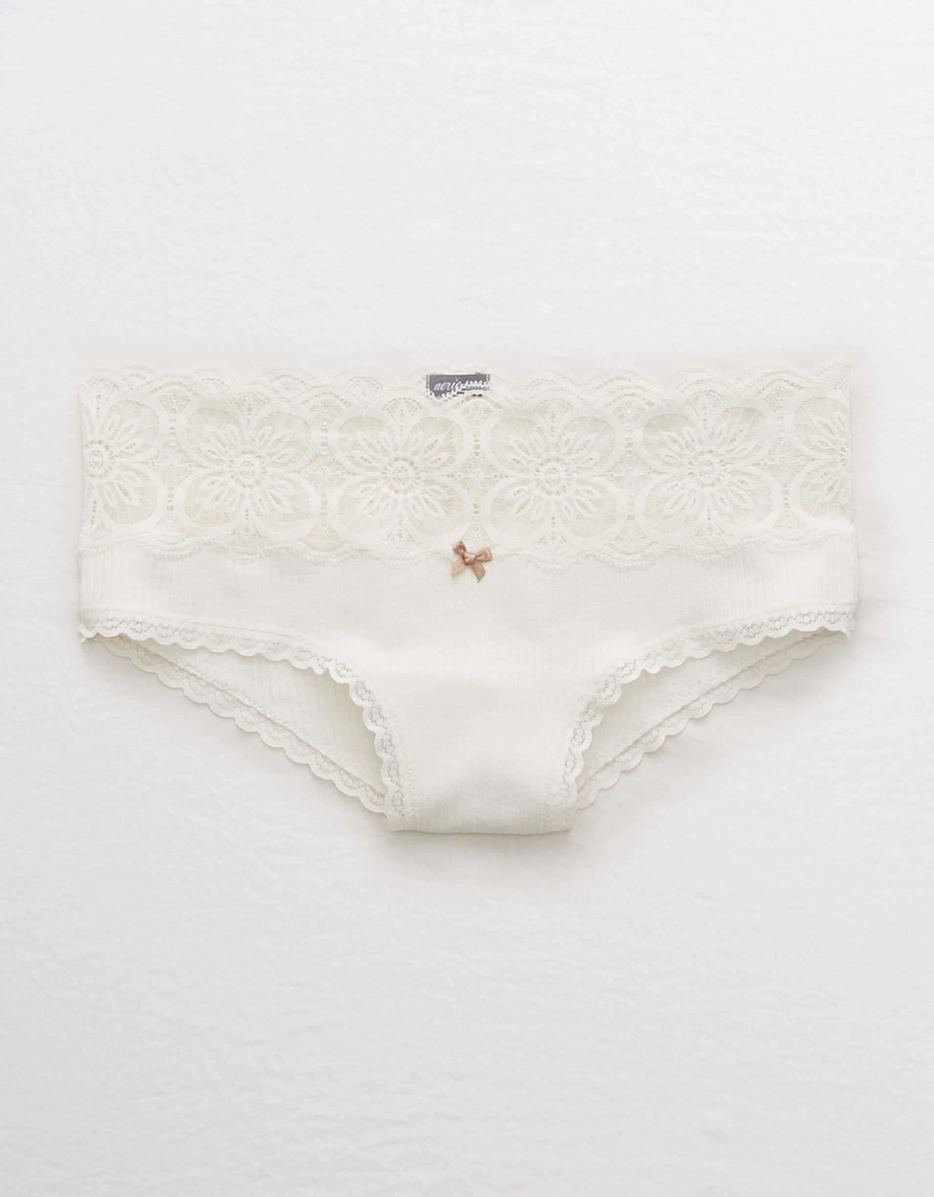 Aerie Ribbed Cheeky Undie