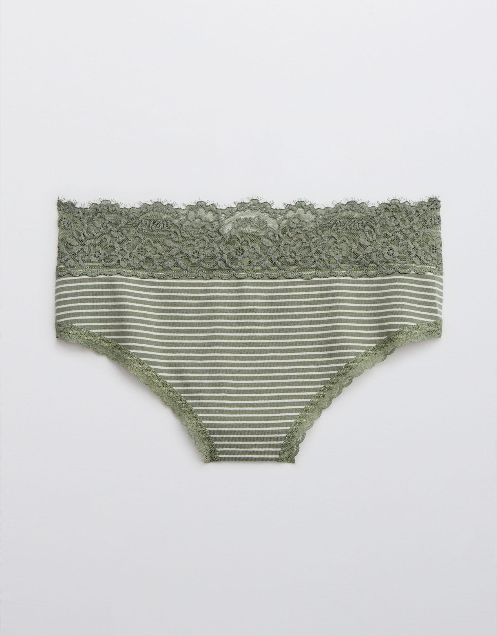 Aerie Cotton Eyelash Lace Cheeky Underwear