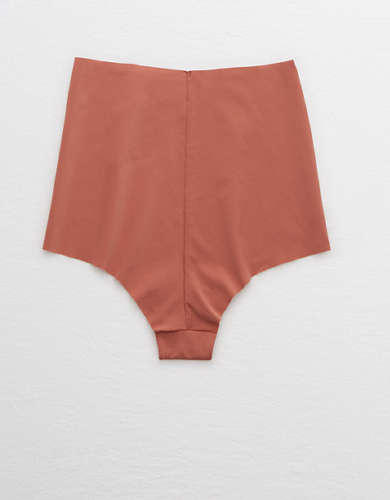 Aerie No Show High Waisted Cheeky Underwear