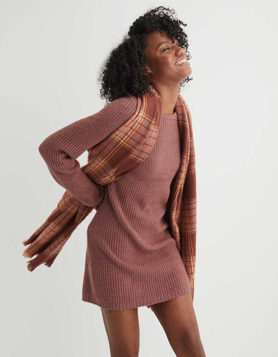 Aerie Twist Back Sweater Dress