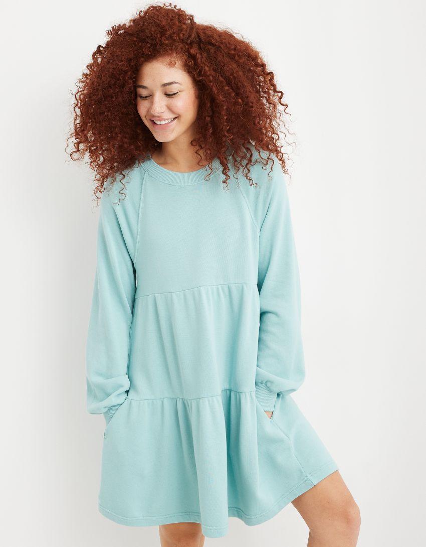 Aerie Weekend Tiered Dress