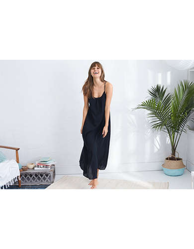 Womens Cotton Dress - American Eagle Outfitters