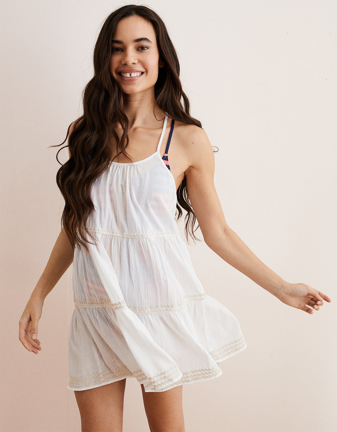 Aerie Open Back Cover Up