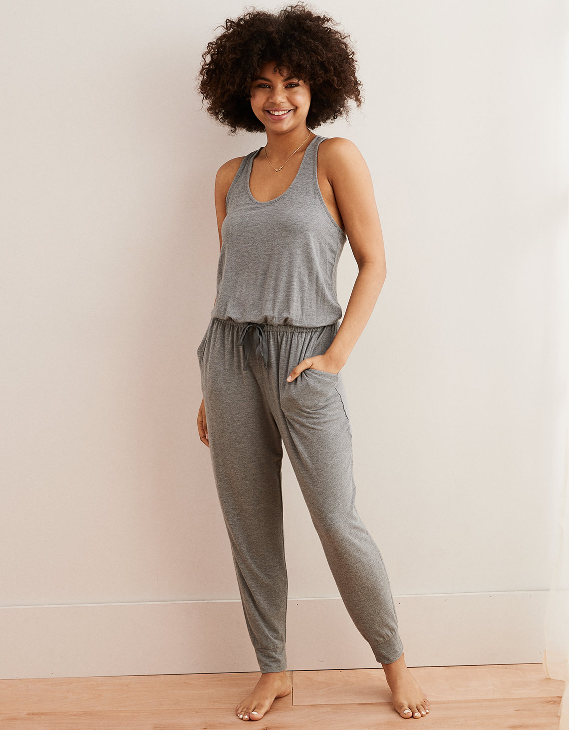bb78a35f99e1 Aerie Track Jumpsuit. Placeholder image. Product Image