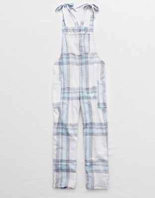 e7f783826e56 Aerie Shoulder Tie Overalls