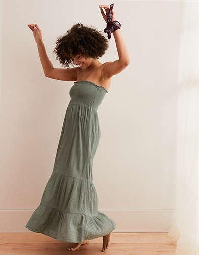 8692408fe20c Aerie Smocked Maxi Dress