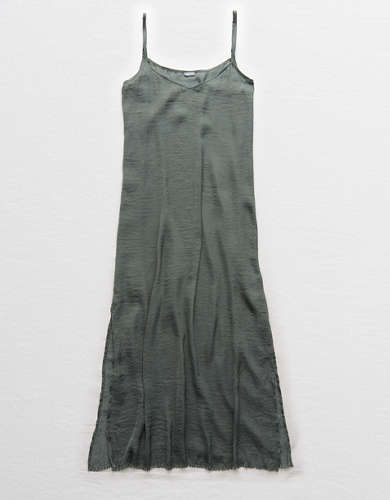 Aerie Satin Slip Dress