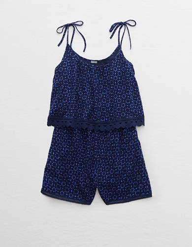 Aerie Pretty Trim Romper