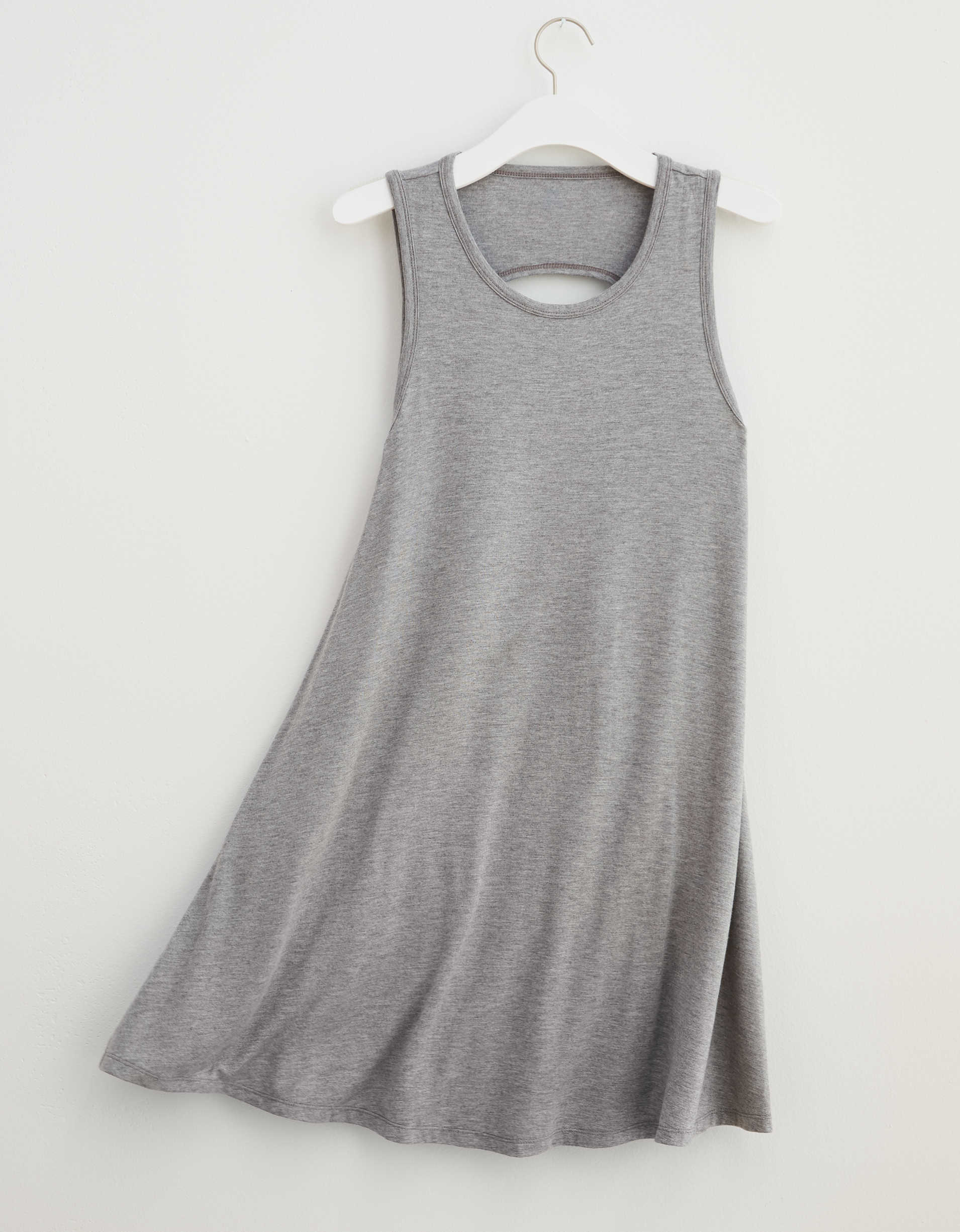 Aerie Cut Out Back Knit Dress