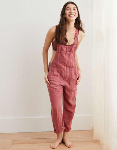 Aerie Twill Utility Overall