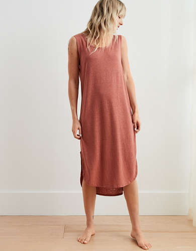 Aerie Easy Knit Midi Dress