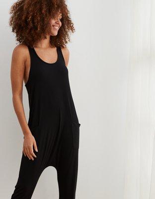 Aerie Real Soft® Ribbed Sleep Jumpsuit