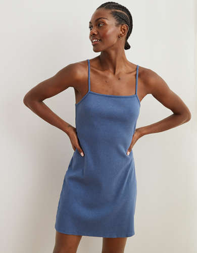 Aerie Ribbed Tank Dress